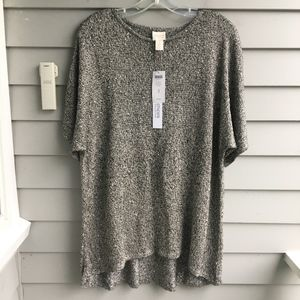 CHICO'S COLLECTION Sequin Sweater XL (3) NWT